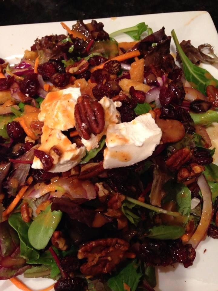 nutty montana salad